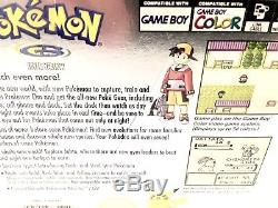 POKEMON SILVER Nintendo Gameboy Color Game Boy GBC NEWithSEALED, H-SEAM