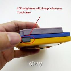 Pokemen Refurbished Game Boy Color GBC Console Brighter Back Light Backlight LCD