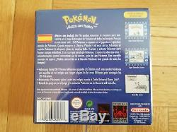 Pokemon Blue Game Boy Color- Amiibos Super Smash Bros- NINTENDO- BRAND NEW