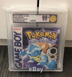 Pokemon Blue Gameboy Colour New Red Strip Sealed VGA Graded Games Nintendo