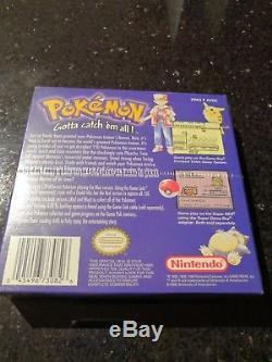 Pokemon Blue Gameboy Colour New Sealed Nintendo 1998