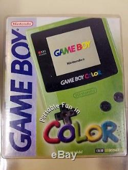 Pokémon Blue Version, Game Boy Color Kiwi & Pokémon Guide Bundle BRAND NEW