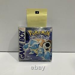 Pokemon Blue Version Nintendo GameBoy Complete +Insert +Manual Colour color Oz4