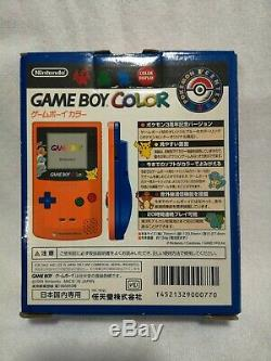 Pokemon Center GameBoy Color Game Boy Orange Limited Edition +extra NEW MINT