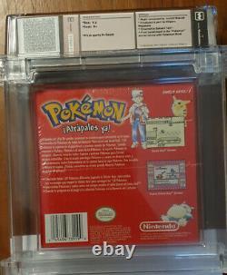 Pokémon Charizard Roja Edition Gameboy Color Wata 9.0 USA Release Spain Sealed