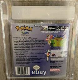 Pokemon Crystal Nintendo Gameboy Color VGA 95 sealed no Wata