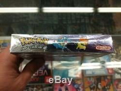 Pokemon Crystal Nintendo Gameboy Color gbc Factory Sealed Brand New