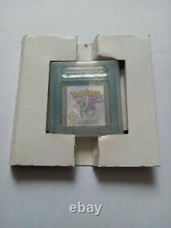 Pokemon Crystal Version Boxed Genuine Nintendo Gameboy Color GBC