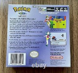 Pokemon Crystal Version Game Boy Color Complete In Box With Manual And Inserts