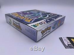 Pokemon Crystal Version (Game Boy Color) Nintendo Authentic CIB Complete In Box