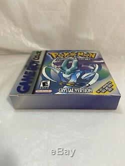 Pokemon Crystal Version (Game Boy Color) Nintendo Authentic CIB Complete Inserts