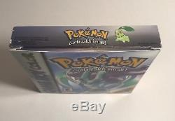 Pokemon Crystal Version (Nintendo Game Boy Color, 2001) CIB Complete. Tested
