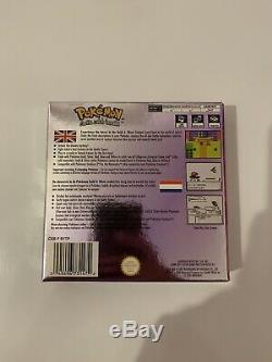 Pokemon Crystal Version (Nintendo Game Boy Color, 2001) European Version