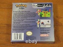 Pokemon Crystal Version Nintendo Game Boy Color GBC Complete in Box CIB