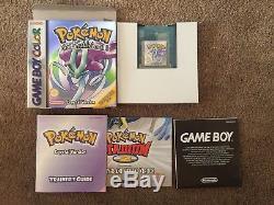 Pokemon Crystal Version U. K. Release Mint (Nintendo Game Boy Color, 2001)