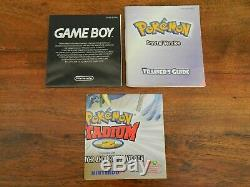 Pokemon Crystal Version for Nintendo Gameboy Colour Color Boxed and Complete