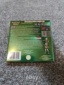 Pokemon EMERALD Gameboy Colour BOXED Excellent Condition NEW BATTERY