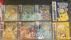 Pokemon GameBoy Color Special edition Bundle! Pokemon red blue gold silver