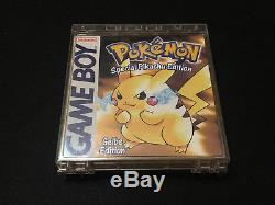 Pokemon Gelbe Pikatchu Edition EUR GameBoy Color OVP CIB NEU unbenutzt