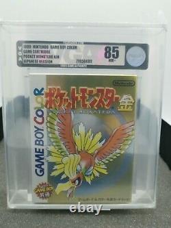 Pokemon Gold, Gameboy Color, 85 NM+ VGA, No WATA