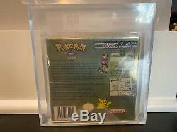 Pokemon Gold Nintendo Gameboy Nib Sealed Vga Graded 80 Game Boy Color