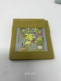 Pokemon Gold & Silver Version CIB Nintendo Gameboy Color Combo (2) Rare