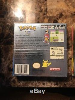 Pokemon Gold + Silver Version (Game Boy Color, 2000) H-SEAM SEALED! VERY GOOD