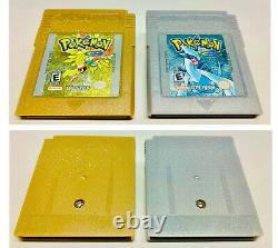 Pokemon Gold & Silver Versions (Game Boy Color, 2000) CIB Complete In BoxTested