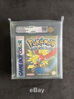 Pokémon Gold VGA 90 Gameboy Color GBC Sealed
