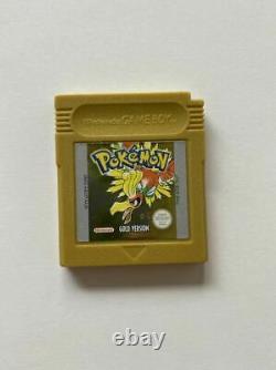 Pokemon Gold Version Boxed Game Boy Color GC PAL