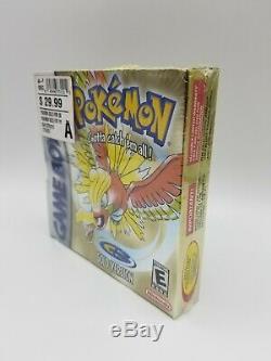 Pokemon Gold Version Color New Rare Gameboy Sealed Game Boy 2000
