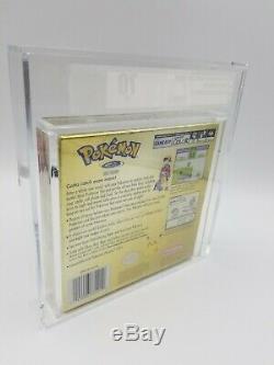 Pokemon Gold Version Color New Rare Gameboy Sealed Game boy VGA Graded 70 EX+