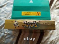 Pokemon Gold Version (Game Boy Color, 2000)