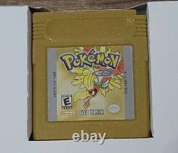 Pokemon Gold Version (Game Boy Color, 2000) CIB Complete Authentic