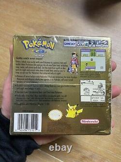 Pokemon Gold Version (Game Boy Color, 2000) Factory Sealed