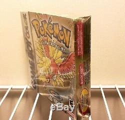 Pokemon Gold Version (Game Boy Color, 2000) SEALED In Original Packaging
