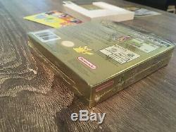 Pokemon Gold Version (Game Boy Color) CIB with Shrink wrap Complete In Box