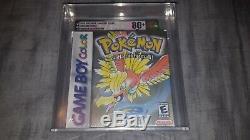 Pokemon Gold Version Game Boy Color New Sealed Graded VGA 80+ Silver Not WATA