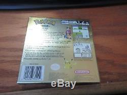 Pokemon Gold Version (Nintendo Game Boy Color, 2000) NIP SEALED