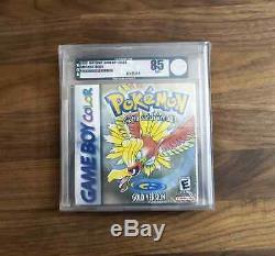 Pokemon Gold Version (Nintendo Game Boy Color, 2000) VGA 85 NM+ Factory SEALED