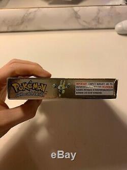 Pokemon Gold Version (Nintendo Game Boy Color, 2001) 100% Genuine Boxed