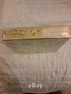 Pokemon Gold Version (Nintendo Game Boy Color, 2001) European Version