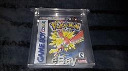 Pokemon Gold Version Nintendo Game Boy Color New Factory Sealed VGA 85+ Gold