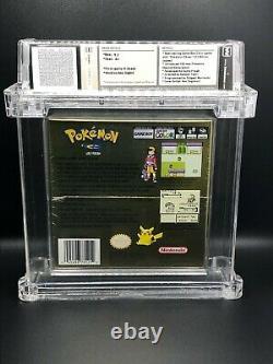 Pokemon Gold Version Sealed WATA 9.2 A+ (Nintendo Gameboy Color)