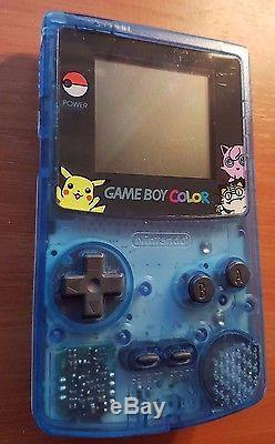 Pokemon Hong Kong Nintendo Gameboy Color Limited Edition Pocket Monsters Rare