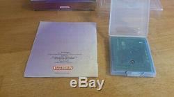Pokemon Kristall Edition Gameboy Color OVP CIB Boxed Crystal
