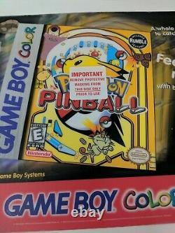 Pokemon Pinball Gameboy Color Counter Mat Sign Promo Store Display VTG Yellow