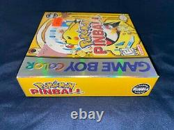 Pokemon Pinball Nintendo Game Boy Color Gameboy GBC New Sealed USA Version NTSC