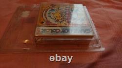 Pokemon Pinball PAL Gameboy color game boy colour Nintendo Red strip sealed