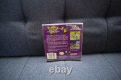Pokemon Puzzle Challenge (Nintendo Game Boy Color) Complete In Box! CIB Tested